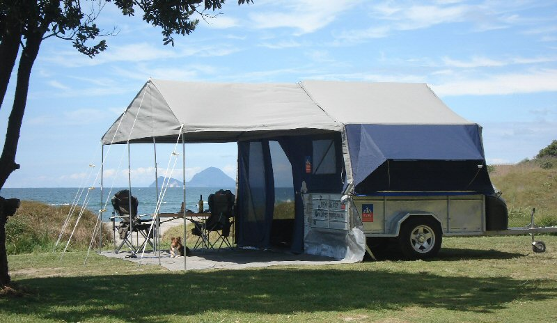& Camper trailers by 3 Dog Camping New Zealand